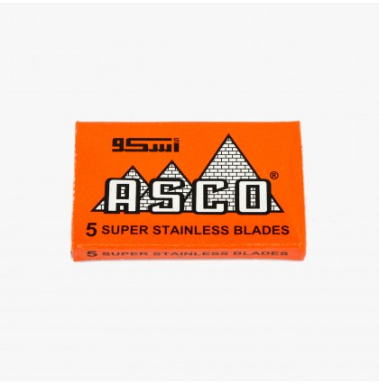 ASCO Super Stainless Double Edge Razor Blades