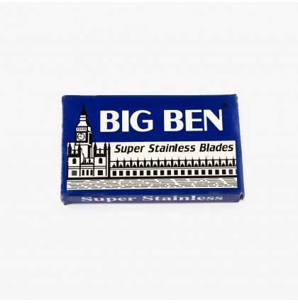 Big Ben Super Stainless Double Edge Razor Blades