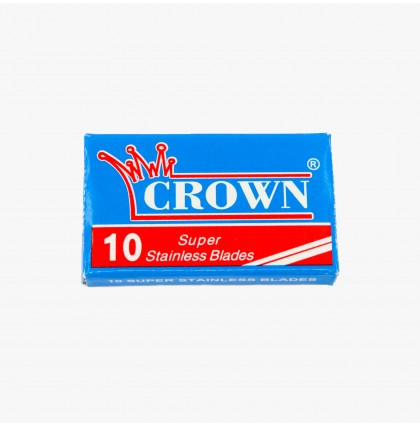 Crown Super Stainless Double Edge Razor Blades