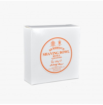 D R Harris Sandalwood Shaving Soap Refill
