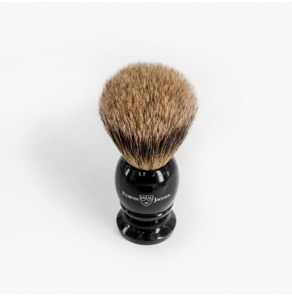 Edwin Jagger Medium Best Badger Shaving Brush with Ebony Handle