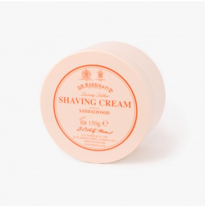 D R Harris Sandalwood Shaving Cream Bowl