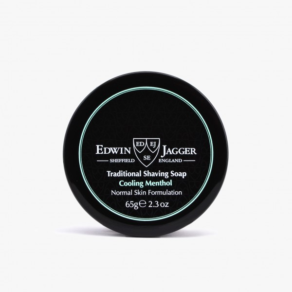 Edwin Jagger Cooling Menthol Shaving Soap with Jar