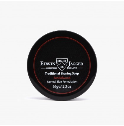 Edwin Jagger Sandalwood Shaving Soap with Jar