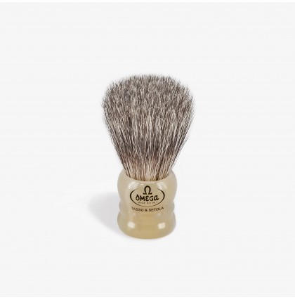 Omega 11047 Bristle & Badger Shaving Brush