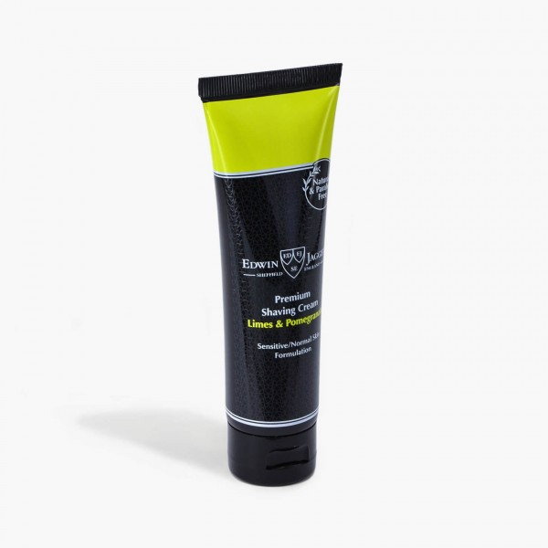 Edwin Jagger Limes & Pomegranate Shaving Cream Tube