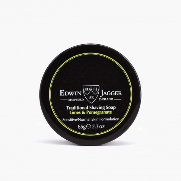 Edwin Jagger Limes & Pomegranate Shaving Soap with Jar