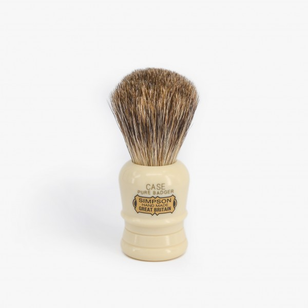 Simpsons Case Pure Badger Shaving Brush