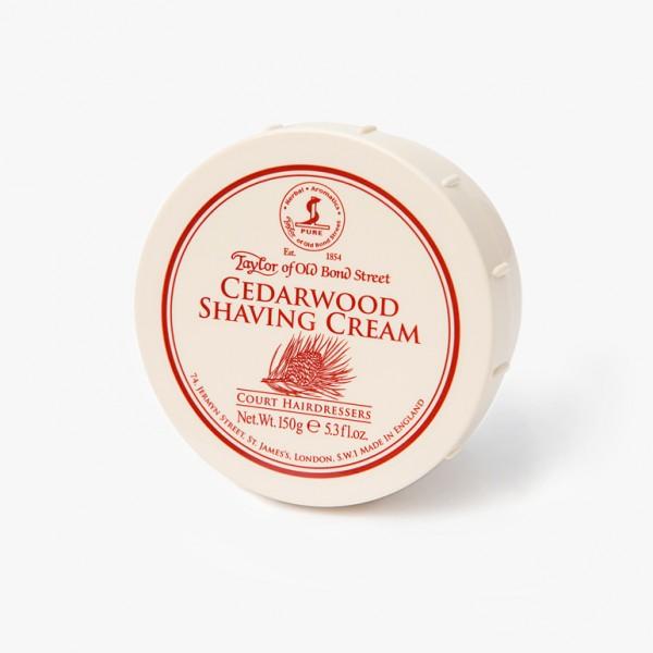 Taylor of Old Bond Street Cedarwood Shaving Cream Bowl