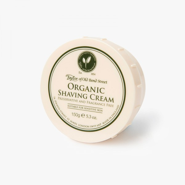 Taylor of Old Bond Street Organic Shaving Cream Bowl