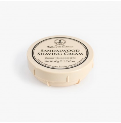Taylor of Old Bond Street Sandalwood Travel Shaving Cream Bowl